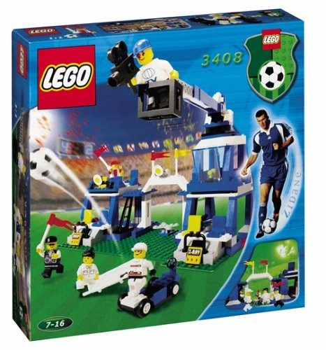 Lego 3408 Soccer Super Sport Coverage Set