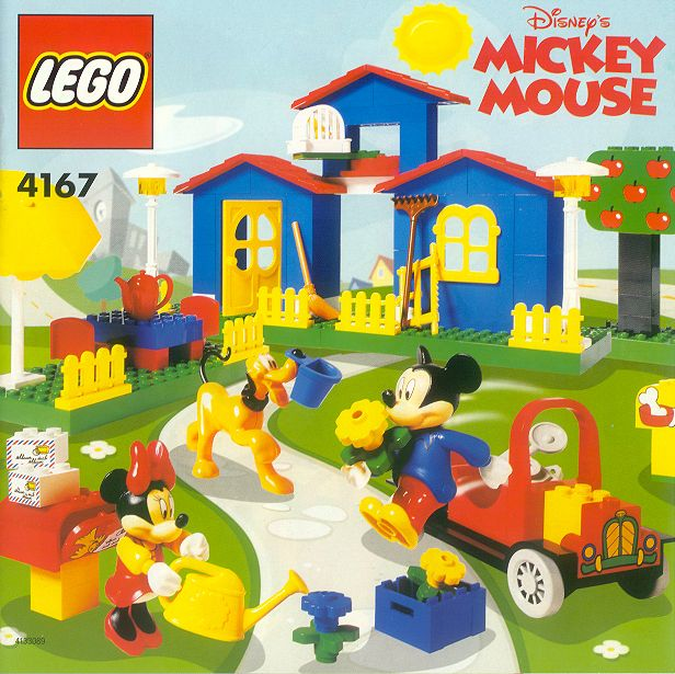 Lego 4167 Disney Mickey's Mansion Set