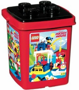 Lego 4178 Disney Mickey's Fishing Adventure Bucket Set