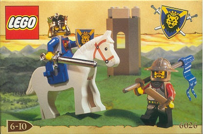 Lego 6026 Castle Knights Kingdom King Leo Set