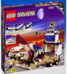 Lego 6455 Space Port Space Simulation Station Set