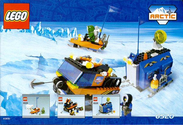 Lego 6520 Arctic Mobile Outpost Set