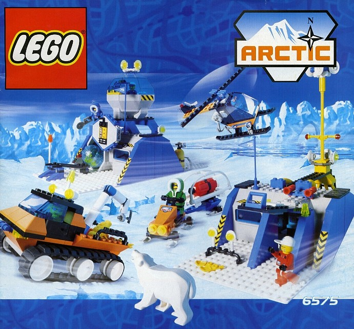 Lego 6575 Arctic Polar Base Set