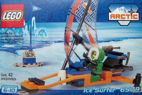 Lego 6579 Arctic Ice Surfer Set