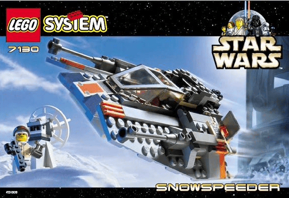 Lego 7130 Star Wars Snowspeeder Set
