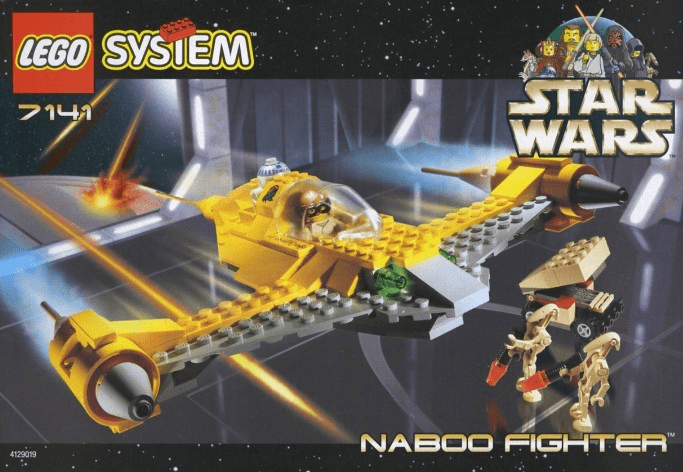 Lego 7141 Star Wars Naboo Fighter Set