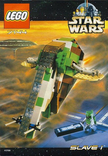 Lego 7144 Star Wars Slave 1 Set