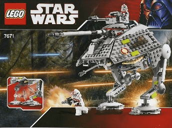 Lego 7671 Star Wars AT-AP Walker Set