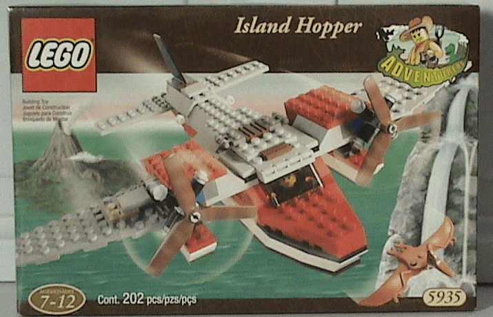 Lego Adventures Dino Island Hopper Set