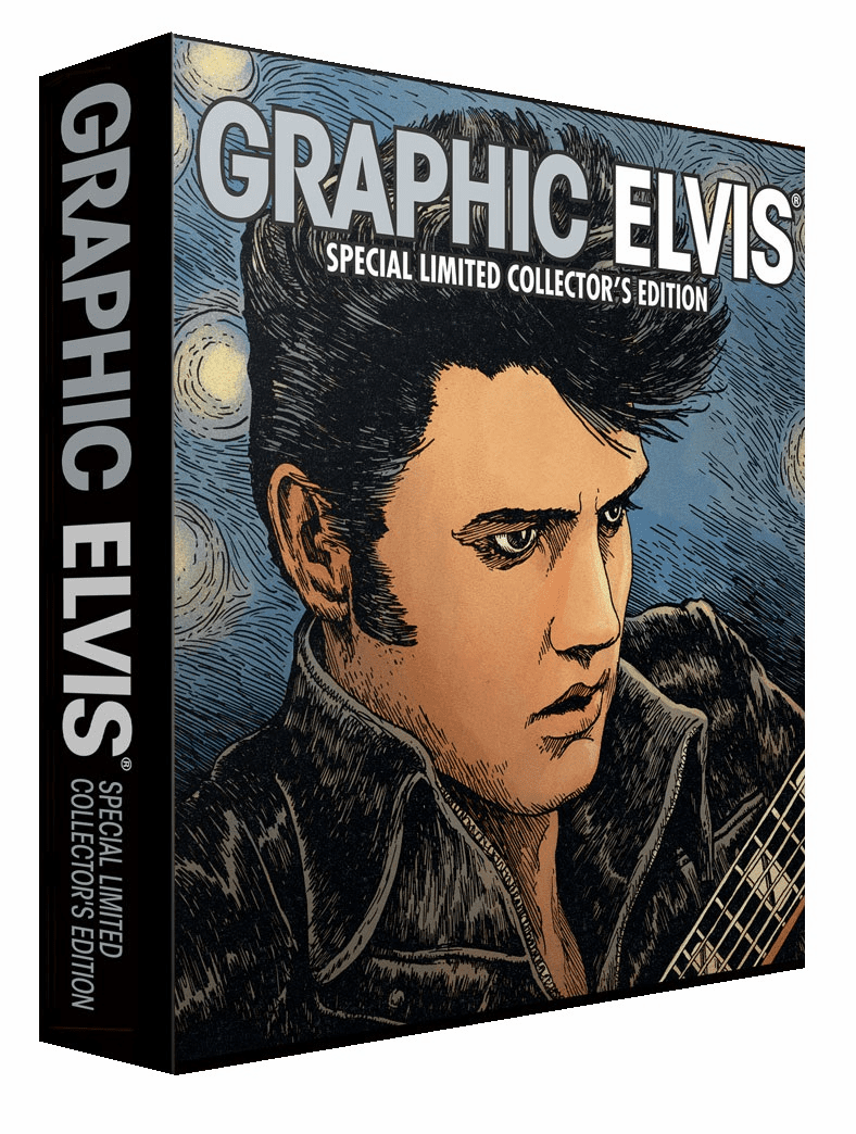 Liquid Comics Graphic Elvis Limited Collector's Hardcover