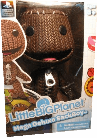 Little Big Planet Mega Deluxe Sackboy Figure