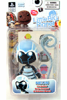 Little Big Planet Neon Figure