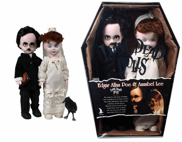 Living Dead Dolls Edgar Allan Poe & Annabel Lee Doll