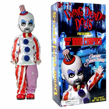 Living Dead Dolls House of 1000 Corpses Captain Spaulding Doll