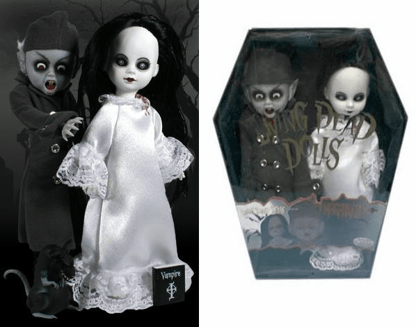 Living Dead Dolls Nosferatu & Victim Previews Exclusive 2-pack
