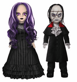 Living Dead Dolls Scary Tales Beauty and the Beast Set