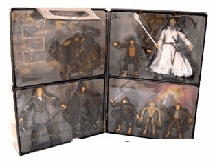 Lord of the Rings Action Figure Carrying Case Set