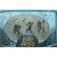 Lord of the Rings Armies of Middle Earth Moria Orcs Figure 3 pack