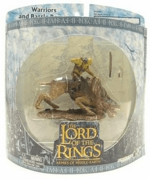 Lord of the Rings Armies of Middle Earth Sharku on Warg Solid Case