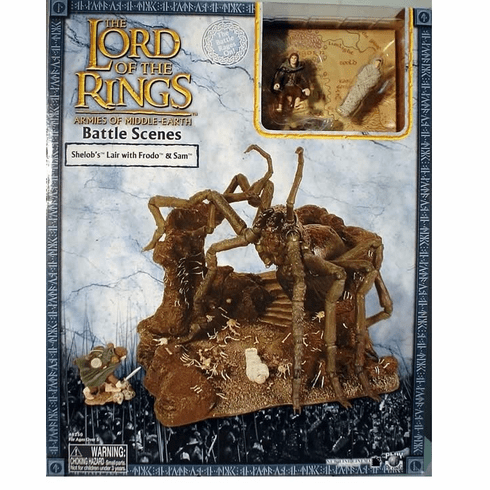 Lord of the Rings Armies of Middle Earth Shelob's Lair Playset
