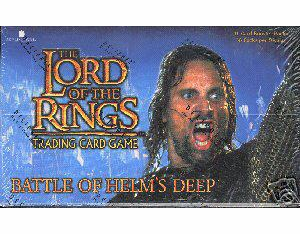 Lord of the Rings Battle of Helm's Deep Booster Box
