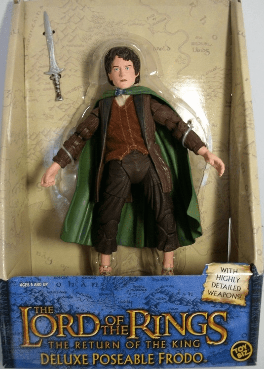Lord of the Rings Deluxe Poseable Frodo Action Figure