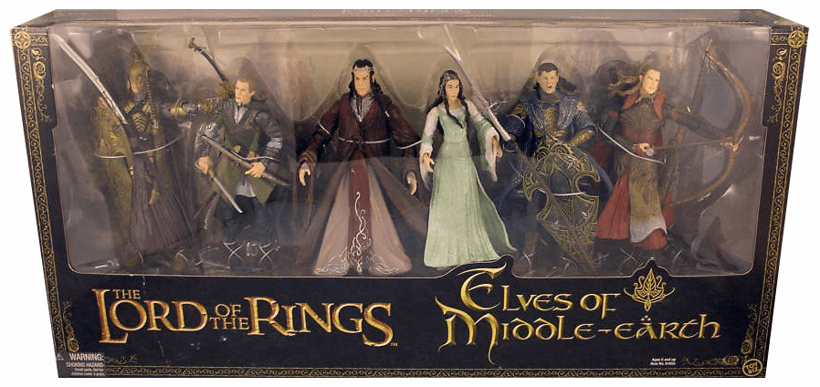 Lord of the Rings Elves of Middle Earth Action Figure Box Set