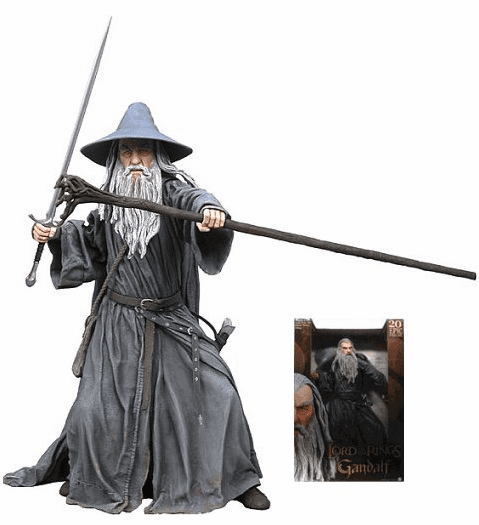 """Lord of the Rings Epic Scale 20"""" Talking Gandalf Action Figure"""