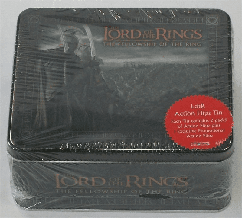 Lord of the Rings Fellowship of the Ring Action Flipz Prologue Tin