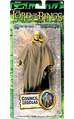 Lord of the Rings Fellowship of the Ring Council Legolas Action Figure