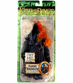 Lord of the Rings Fellowship of the Ring Flaming Ringwraith Figure