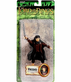 Lord of the Rings Fellowship of the Ring Frodo Sword Attack Figure