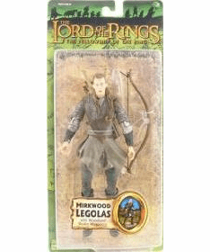 Lord of the Rings Fellowship of the Ring Mirkwood Legolas Figure