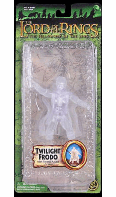 Lord of the Rings Fellowship of the Ring Twilight Frodo Figure
