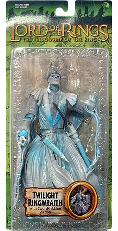 Lord of the Rings Fellowship of the Ring Twilight Ringwraith Figure