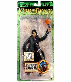 Lord of the Rings Fellowship of the Ring Weathertop Strider Figure