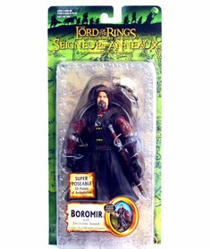 Lord of the Rings Fellowship Super Poseable Boromir Figure