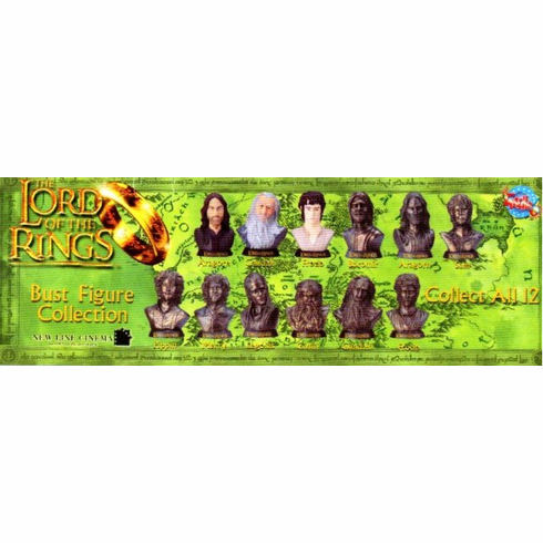 Lord of the Rings Gacha Bust Figure Collection 1