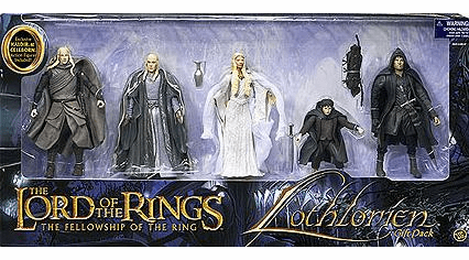 Lord of the Rings Lothlorien Action Figure Box Set