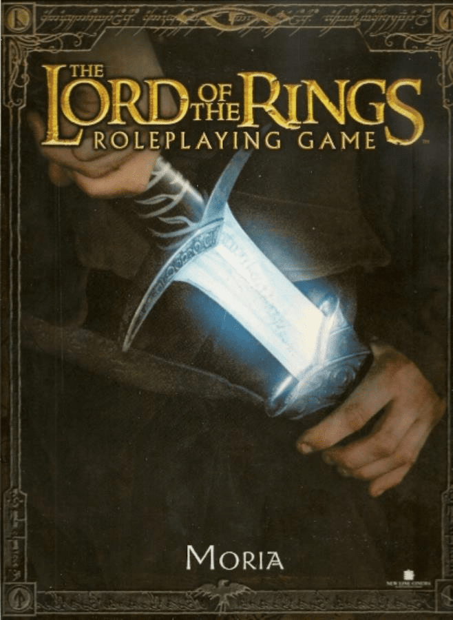 Lord of the Rings Moria Role Playing Game Box Set