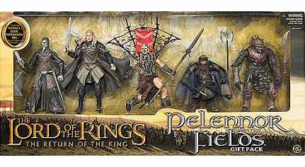 Lord of the Rings Pelennor Fields Action Figure Box Set