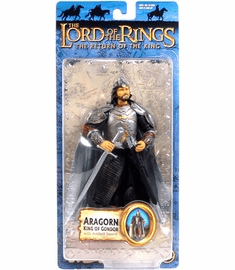 Lord of the Rings Return of the King Aragorn King of Gondor Figure