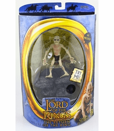 Lord of the Rings Return of the King Gollum with Sound Base Figure