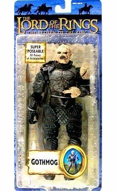 Lord of the Rings Return of the King Gothmog Action Figure