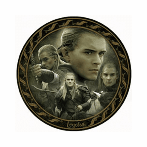 Lord of the Rings Return of the King Legolas Collector Plate