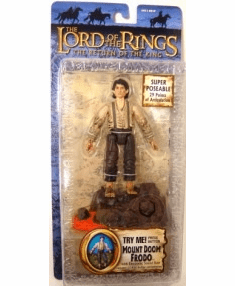 Lord of the Rings Return of the King Mount Doom Frodo Action Figure