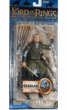 Lord of the Rings Return of the King Rohan Armor Legolas Figure