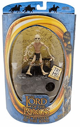 Lord of the Rings Return of the King Smeagol with Sound Base Figure