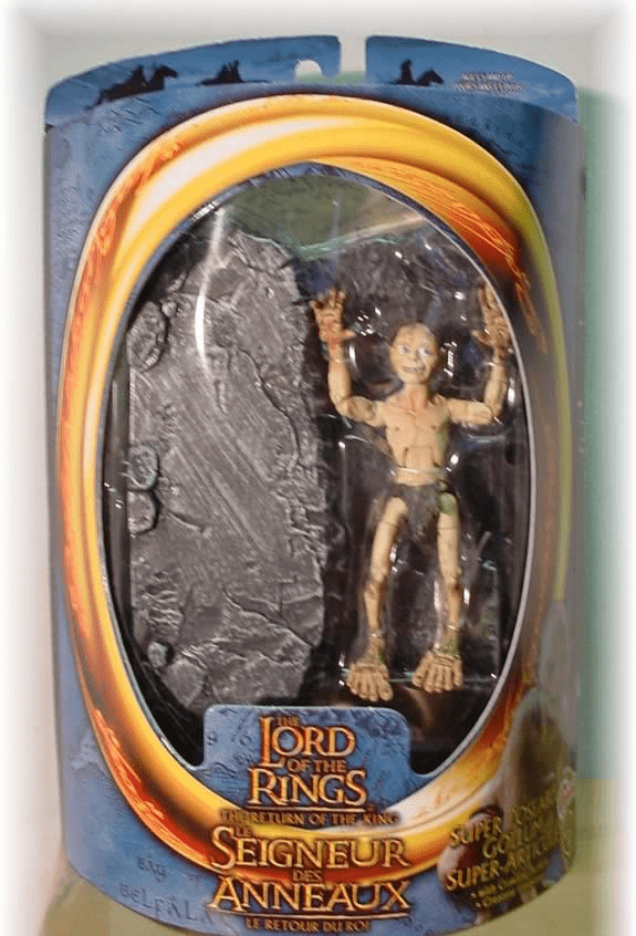 Lord of the Rings Return of the King Super Poseable Gollum Figure