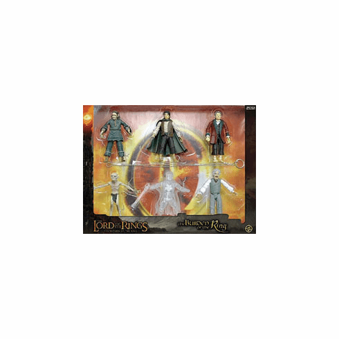 Lord of the Rings The Burden of the One Ring Action Figure Box Set